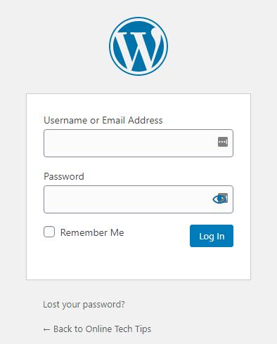 1607604311 120 Comment trouver votre connexion dadministrateur WordPress