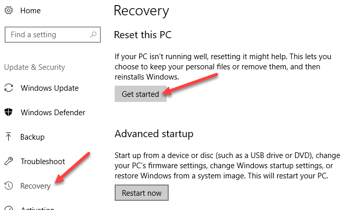 1607609691 446 Correction de lerreur Windows 810 Nous navons pas pu nous