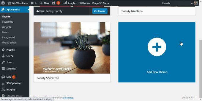 1607612355 40 Comment installer un theme sur WordPress