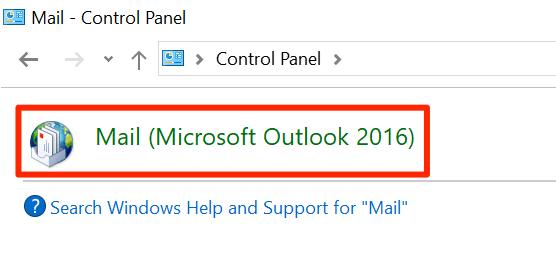 1607619146 958 Comment reparer Outlook continue de demander un probleme de mot