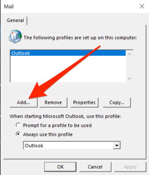 1607619147 241 Comment reparer Outlook continue de demander un probleme de mot