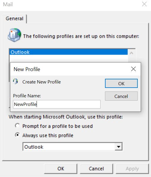1607619147 410 Comment reparer Outlook continue de demander un probleme de mot