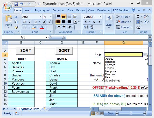 1607623160 904 Utiliser les noms de plage dynamique dans Excel pour les