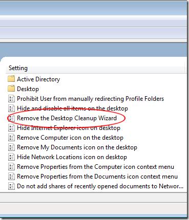 1607643748 434 Supprimer lassistant de nettoyage du bureau de Windows 7