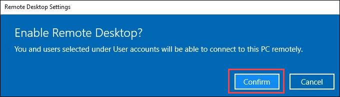 1607664496 331 Comment utiliser le bureau a distance dans Windows 10