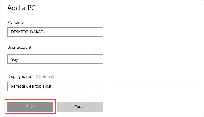 1607664497 844 Comment utiliser le bureau a distance dans Windows 10