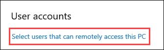 1607664497 997 Comment utiliser le bureau a distance dans Windows 10