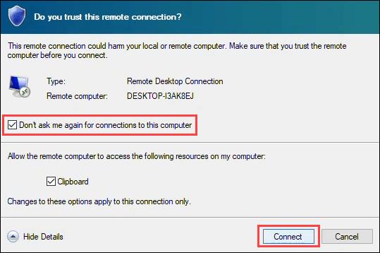 1607664498 811 Comment utiliser le bureau a distance dans Windows 10