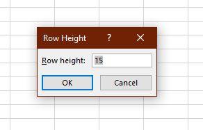 1607685360 380 Utilisez le clavier pour modifier la hauteur de ligne et