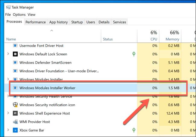 1607695470 667 Quest ce que Windows Modules Installer Worker et est il sur