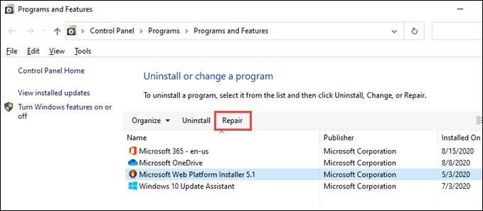 1607750725 221 Le dossier de demarrage de Windows 10 ne fonctionne pas
