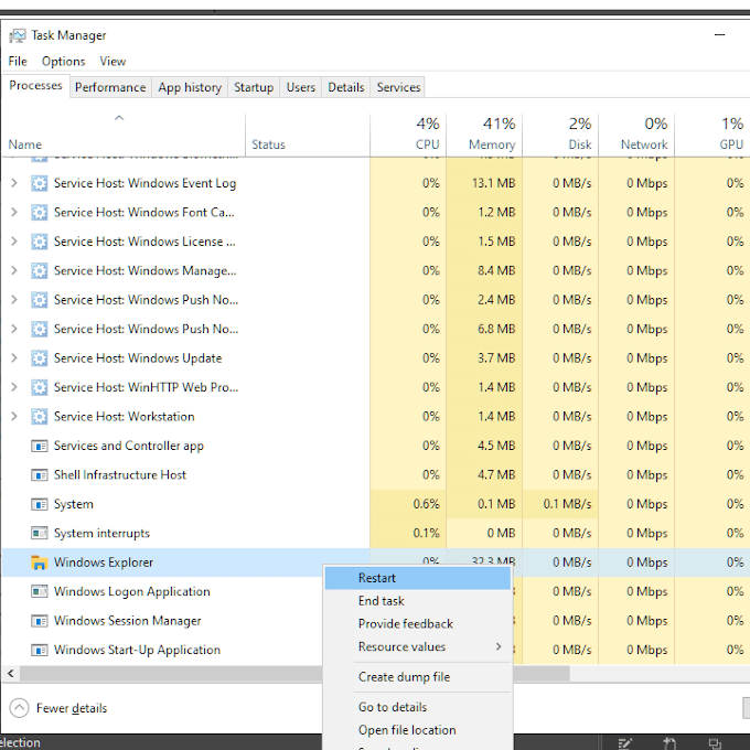 1607791253 830 La barre des taches ne se cache pas sous Windows