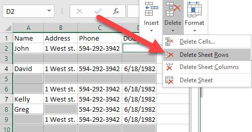 1607807768 690 Comment supprimer des lignes vides dans