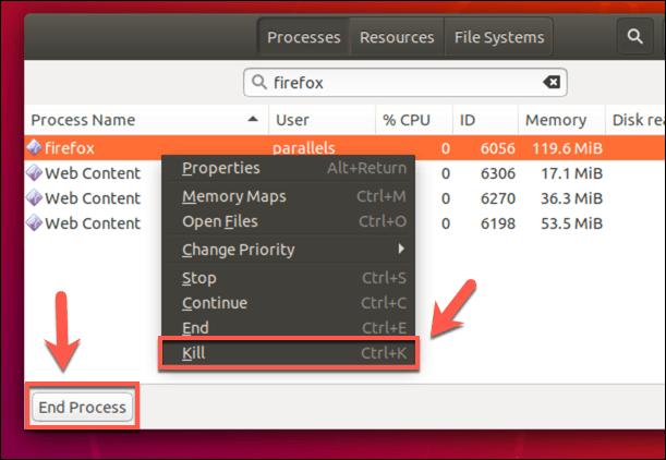 1607807874 645 Fermer de force un programme dans Ubuntu