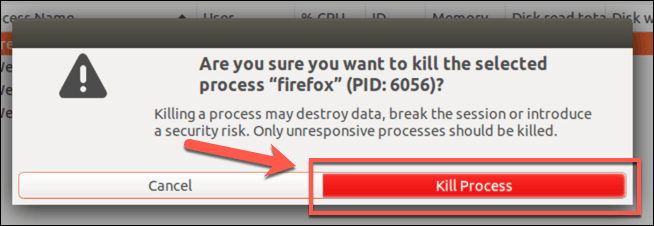 1607807874 932 Fermer de force un programme dans Ubuntu