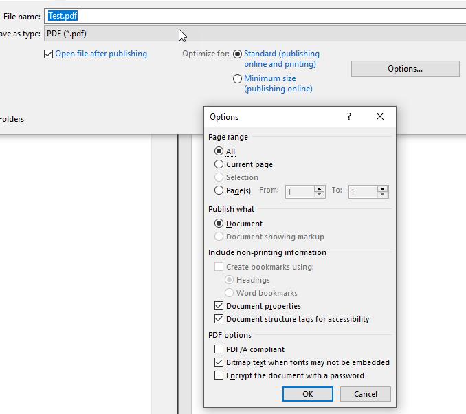 1607811420 596 Comment creer des documents PDF dans Microsoft Office