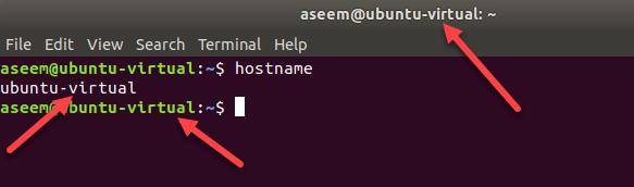 1607811761 286 Trouvez et changez votre nom dhote dans Ubuntu