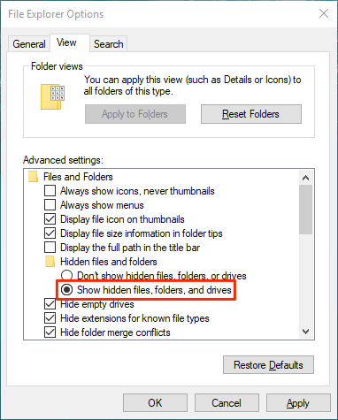 1607816502 550 4 facons de trouver des fichiers volumineux dans Windows 10