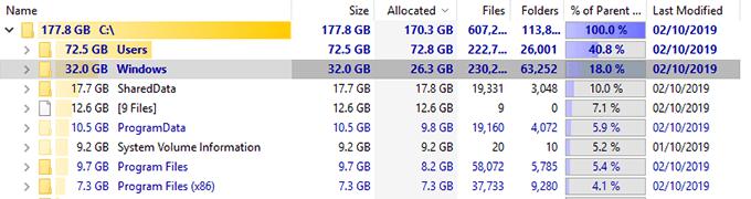 1607816503 197 4 facons de trouver des fichiers volumineux dans Windows 10