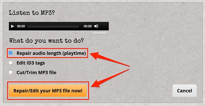 1607820197 573 Rechercher et reparer les fichiers MP3 endommages