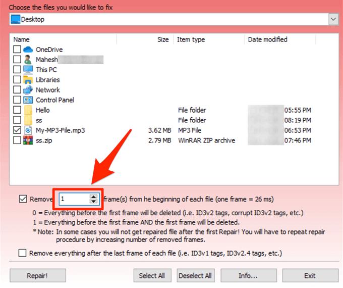 1607820198 448 Rechercher et reparer les fichiers MP3 endommages