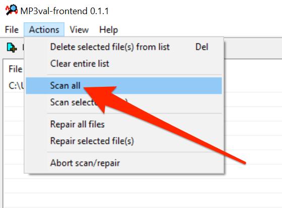 1607820198 832 Rechercher et reparer les fichiers MP3 endommages