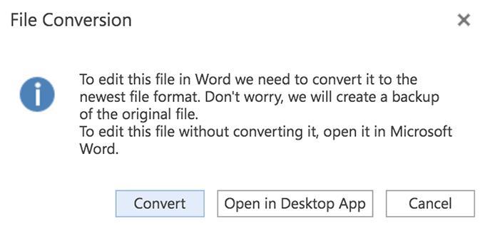 1607827355 302 Comment mettre a jour un ancien document Word au dernier