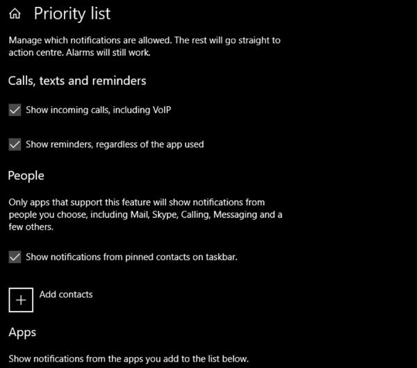 1607829972 660 Utilisez Focus Assist pour controler les notifications dans Windows 10