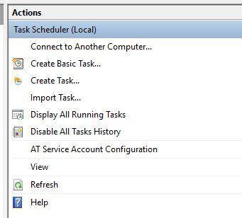 1607838605 763 Utilisez le planificateur de taches de Windows 10 pour automatiser