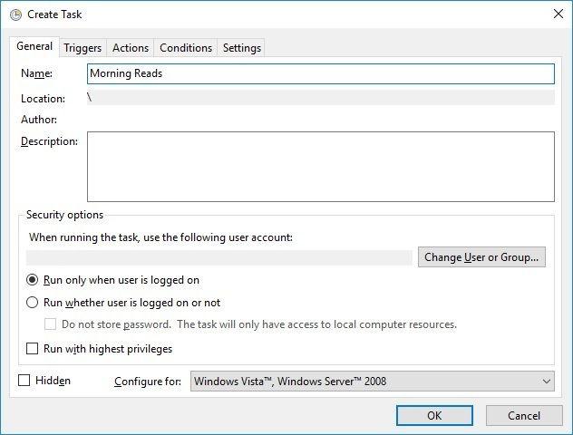 1607838606 254 Utilisez le planificateur de taches de Windows 10 pour automatiser