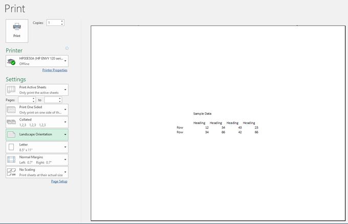 Centrez vos données de feuille de calcul dans Excel pour l'impression