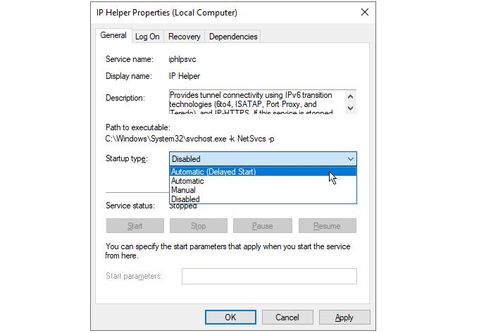 1607863234 939 Quest ce quIphlpsvc dans Windows 10 et est il sur