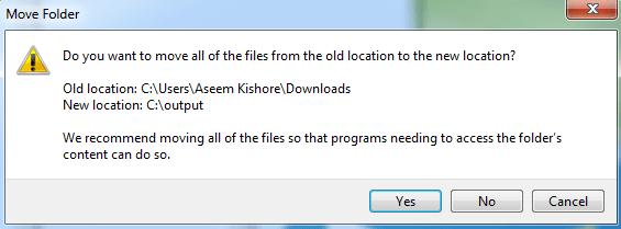 1607885088 996 Modifier lemplacement des dossiers utilisateur dans Windows