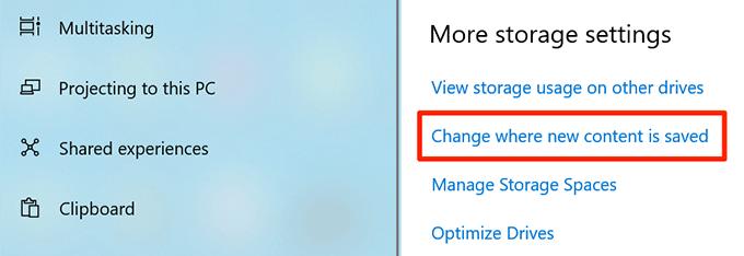 1607891086 387 Comment changer lemplacement de telechargement par defaut dans Windows 10