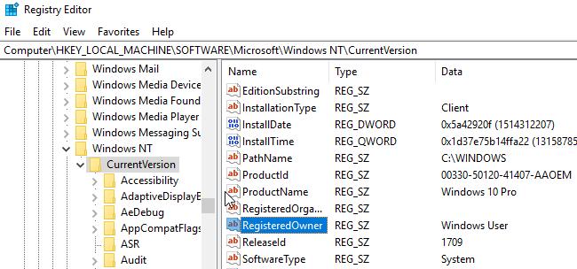 1607893929 478 Modifier le nom du proprietaire enregistre dans Windows 7810