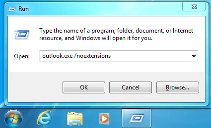 Outlook pas de compléments