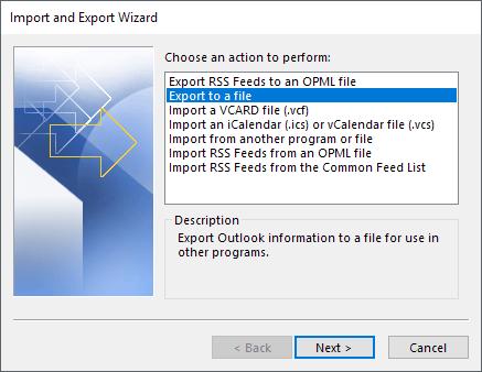 1607912826 819 Comment exporter vos e mails de Microsoft Outlook vers CSV ou