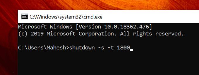 1607917514 916 Comment arreter automatiquement un ordinateur Windows