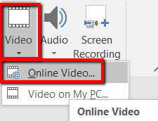 1607918872 236 Comment integrer une video YouTube dans Microsoft PowerPoint