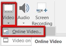 1607918873 110 Comment integrer une video YouTube dans Microsoft PowerPoint