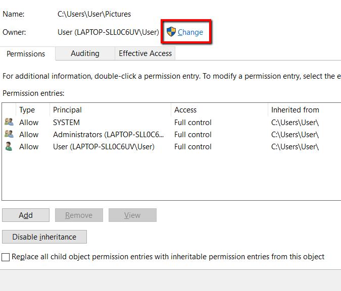 1607947905 679 Comment changer la propriete dun fichier ou dun dossier sous