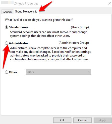 1607952468 150 Comment changer ladministrateur sous Windows 10