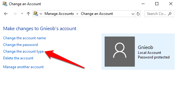 1607952468 990 Comment changer ladministrateur sous Windows 10