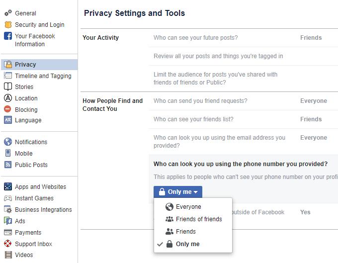 1607958444 105 9 conseils pour une meilleure confidentialite sur Facebook