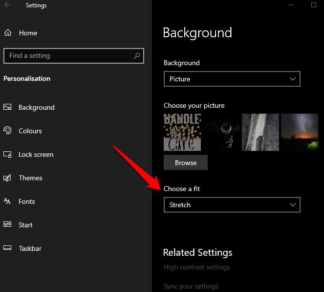 1607959810 227 Comment changer larriere plan de votre bureau dans Windows 10