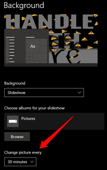 1607959811 326 Comment changer larriere plan de votre bureau dans Windows 10