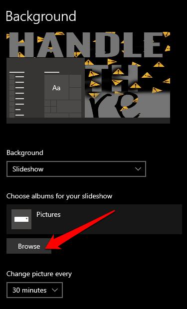 1607959811 609 Comment changer larriere plan de votre bureau dans Windows 10