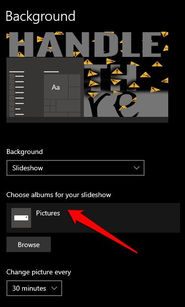 1607959811 972 Comment changer larriere plan de votre bureau dans Windows 10