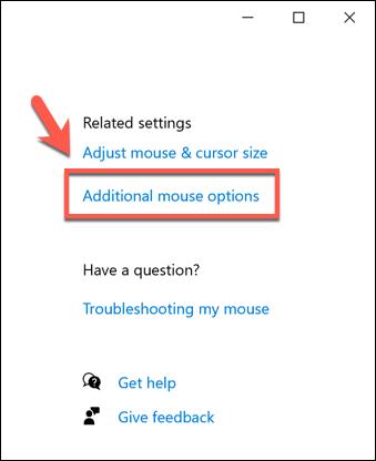 1607971102 255 Comment changer la vitesse de votre souris dans Windows 10