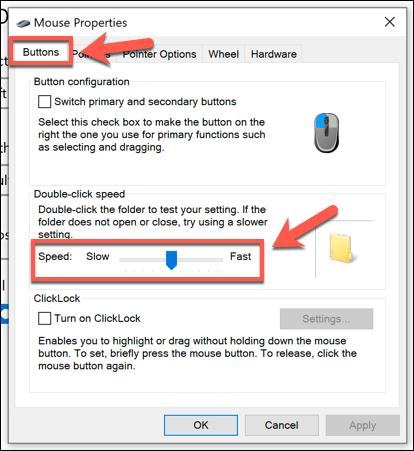 1607971102 899 Comment changer la vitesse de votre souris dans Windows 10